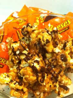 Today has been one of those lazy movie days and what's a movie day without popcorn? Problem though, regular popcorn was really doing the tri...