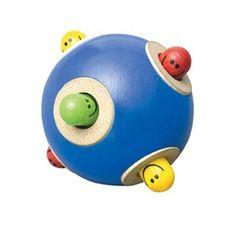 Kiekeboe houten bal Wonderworld