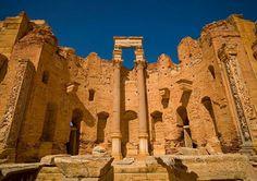 Leptis Magna, Lybia.