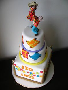 Djalma Reinaldo arrasando no bolo de festa junina! :D