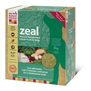 This natural dog food diet was designed to cater to adult dogs of all breeds and sizes. Zeal is ideal for sensitive dogs that need a grain and gluten free dog food or who may have a sensitivity to the more popular protein sources, such as poultry or beef. Zeal is naturally low-carb, with just 36.4% carbohydrates. Low carb diets are often indicated as part of a holistic approach to cancer recovery.
