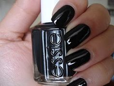 Essie - Licorice    #essie #black