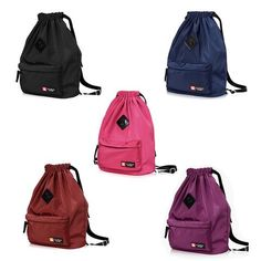 93ce40773e Drawstring Bag, Festival Nylon Travel Backpack