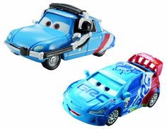 DisneyPixar Cars Raoul Caroule and Bruno Motoreau Diecast Vehicle 2Pack >>> Details can be found by clicking on the image.
