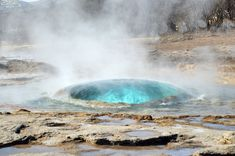 Geysir Geothermal Area, Haukadalur Valley, The Golden Circle, Iceland — Adventurous Travels Best Countries To Visit, Cool Countries, Geysir Iceland, Golden Circle, Places In Europe, Iceland Travel, Natural Phenomena, Adventure Travel, Paths