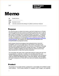 apa memo format example