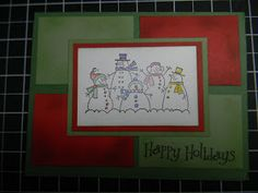 Kards by Kadie: Handmade Cards for Christmas 2010