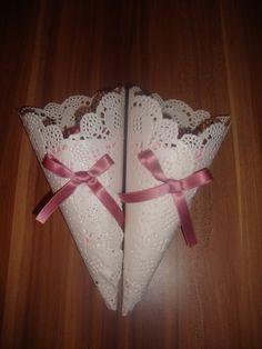 Accessoires - Streutütchen Blumenkinder Streukörbchen Vintage - ein Designerstück von irina7889 bei DaWanda