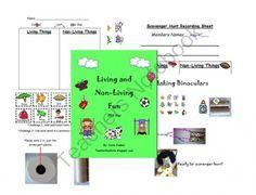living and non living things worksheets science pinterest worksheets. Black Bedroom Furniture Sets. Home Design Ideas