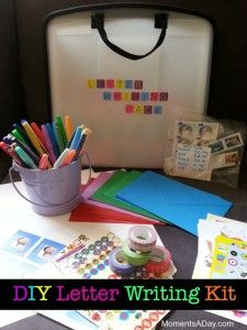 How to make your own Letter Writing Kit - plus five reasons for why having pen pals will help expand a child's worldview