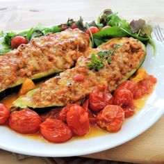 Tempeh, Tofu, Tandoori Chicken, Zucchini, Smoothie, Food And Drink, Meat, Vegetables, Ethnic Recipes