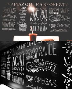BLOG SOBRE DIY, DECORAÇÃO, FESTAS, ILUSTRAÇÃO, FREEBIES, PICNIC E PAPELARIA EM BRASÍLIA - BLOG DO MATH Blackboard Art, Chalkboard Decor, Chalkboard Lettering, Pharmacy Design, Yogurt Shop, Surf Decor, Frozen Yoghurt, Tape Art, Blackboards