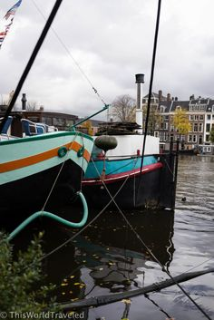 Our perfect houseboat located on the Amstel River in Amsterdam