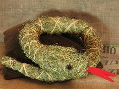 Neue Dekoideen aus Heu Christmas Wreaths, Arts And Crafts, Holiday Decor, Fall, Craft Ideas, Nature, Blog, Wooden Animals, Gardens