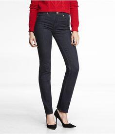 High Rise Skinny Leg Jean   Express