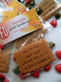Fairepart packaging petit beurre par lafabriquedemeline sur Etsy