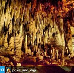 Stalactites and Stalagmites as seen from the tour #luraycaverns #DiscoveryADay | From @poke_and_digi