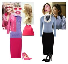"""""""Legally Blonde"""" by batgirl-at-the-walking-dead3 ❤ liked on Polyvore featuring River Island, Carolee, Giuseppe Zanotti, Jimmy Choo, Lime Crime, Witchery, Mémoire, Pared, Michael Kors and Roland Mouret"""
