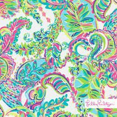 Lilly Pulitzer print : Toucan Play