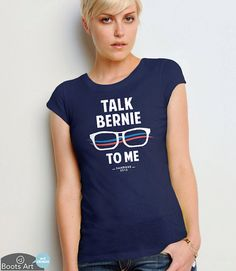 Funny Bernie Sanders Shirt Bernie Sanders for by BootsArt on Etsy