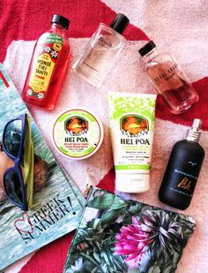 blog, Hei Poa, bumble and bumble, bobbi brown beach, summer beauty products, summer vacations, greek islands, essentials, oakley, h