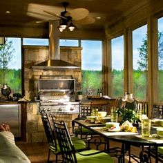 Outdoor grilling ~ dining