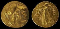 Alexander III the Great (336-323 B.C.) Gold Stater, Coins, Greek Hellenistic…