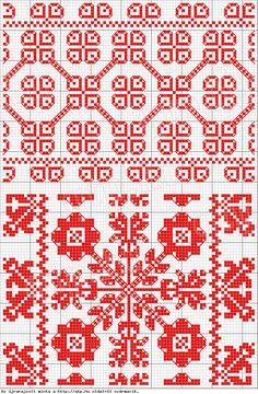 pattern, see site - Magyar Népművészet II. Silágysági hímzések