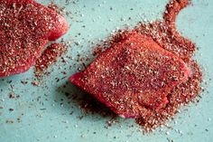 ▲blackened tuna steaks-good.  made with fresh yellowfin steaks and would def use this seasoning mix again!