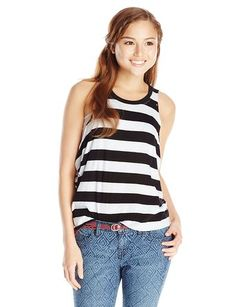 Volcom Junior's Don't Cowl Me Muscle Tank - Casual Tees http://trendtags.net #fashion #summer2015