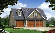 Cottage Craftsman Traditional Garage Plan 59948