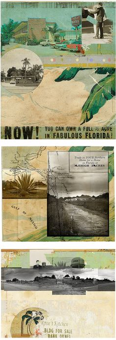Advertisement for land in Florida.....looks to me that it is from the 40's or 50's.