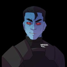"""unpheenix   commissions OPEN on Instagram: """"Feral Thrawn I'd be lying if I said I didn't like Thrawn. I kinda wish he was a little rougher around the edges, and you see that a little…"""" I Said, See It, Sayings, Fictional Characters, Instagram, Lyrics, Fantasy Characters, Quotations, Idioms"""