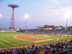 Home of the Brooklyn Cyclones, MCU Park is a fixture at Coney Island, NYC