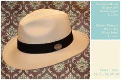 Original Panamá Hat. The most classic one.   El más clásico de todos, y el más de moda!