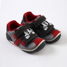 On his mark, get set, go! #DisneyBaby #Mickey #Sneakers $48.00