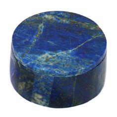 Lapis Lazuli Round Gemstone Box