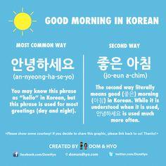 Korean Language Infographics – Page 9 – Learn Basic Korean Vocabulary & Phrases with Dom & Hyo Korean Slang, Korean Phrases, Korean Quotes, Learn Basic Korean, How To Speak Korean, Korean Words Learning, Korean Language Learning, Thank You In Korean, Learn Korean Alphabet