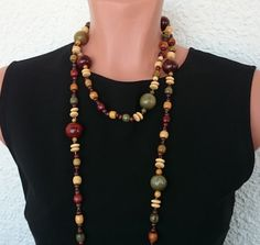 Check out this item in my Etsy shop https://www.etsy.com/ru/listing/384418682/multicolor-long-wood-jewelry-boho-wooden