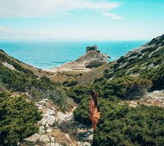 """""""Take my hand and we'll make it"""" Corsica, Nature Pictures, Take My, Landscapes, Sunshine, Wellness, Sea, Water, How To Make"""