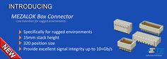 SHC GmbH - New Mezalok Mezzanine Connector -Line Extention-