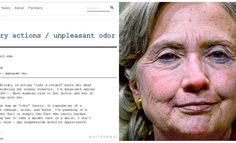 """John Podesta: Hillary is """"Acting Like a Retard – She Smells Like Boiled Cabbage, Urine"""