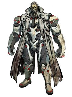 Maximillian Caxton from Anarchy Reigns