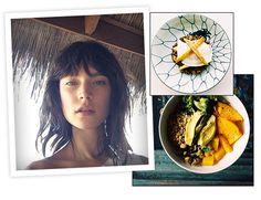 Le brunch végétarien de Jacquelyn Jablonski http://www.vogue.fr/beaute/exclu-vogue/diaporama/petit-dejeuner-equilibre-mannequins/19676/image/1037732#!le-brunch-vegetarien-de-jacquelyn-jablonski