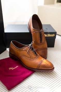 Allen Edmonds leather brogues