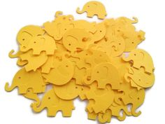 Yellow Elephant Die Cuts Yellow Table Confetti Yellow Baby Shower Decoration Paper elephants yellow baby shower yellow kids party Paper Confetti, Table Confetti, Elephant Colour, Baby Shower Yellow, Yellow Table, Die Cut Paper, Baby Shower Decorations, Elephants, Card Stock