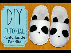 [DIY] Tutorial - Pantuflas de Pandita/Panda Slippers - YouTube