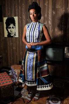 See How Stars Like Solange Knowles Are Playing with Patterns