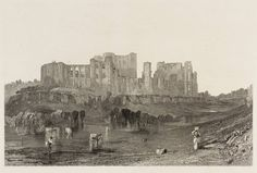 After Joseph Mallord William Turner 'Kenilworth Castle, Warwickshire', 1832