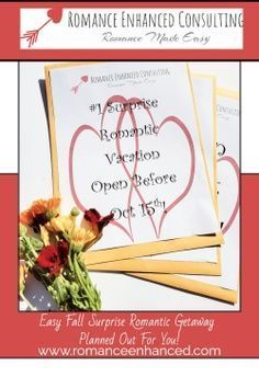 Do You Need A Romantic Gift Idea: Try a Surprise Romantic Getaways That Are All Planned By A Romance Coach! This makes a perfect gift for Valentine's Day,( book early) Christmas, your spouse's birthday, Anniversary or Just because you need to reconnect. #romanticgetaway #anniversarygift #romantichelp #romanticgift #romanticweekend #romanticvacay #romanticplans #romantichelp #romantictips #relationshipgoals #couplegoals